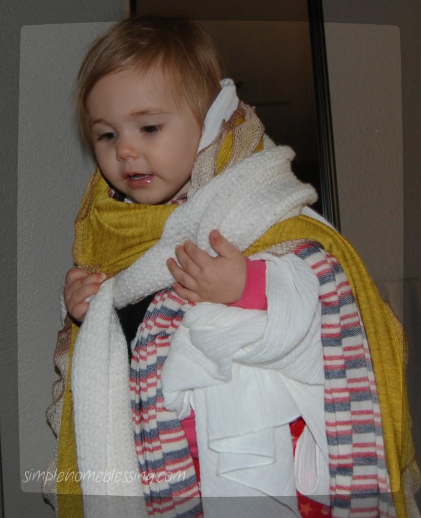 scarf dress up