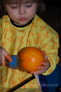 orange peel painting