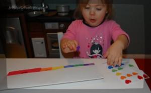 rainbow paper craft 2