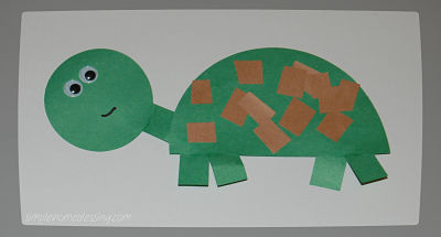Turtle Crafts For Kids