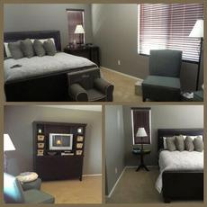 master bedroom clean
