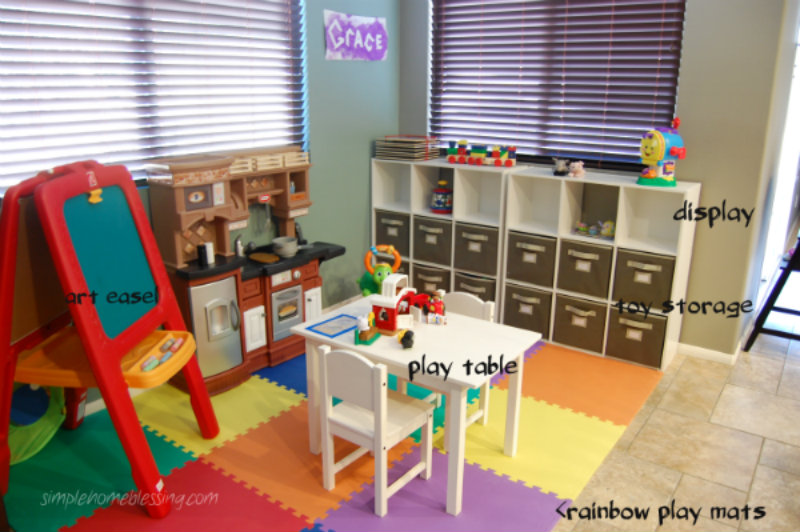 Play Space Reveal Simple Home Blessings