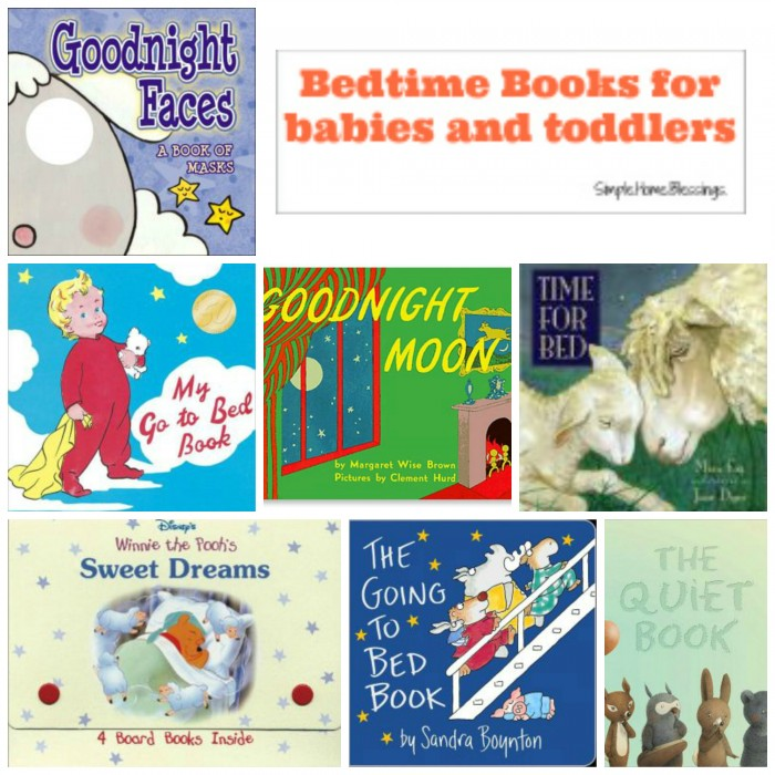 Bedtime Books for Babies and Toddlers