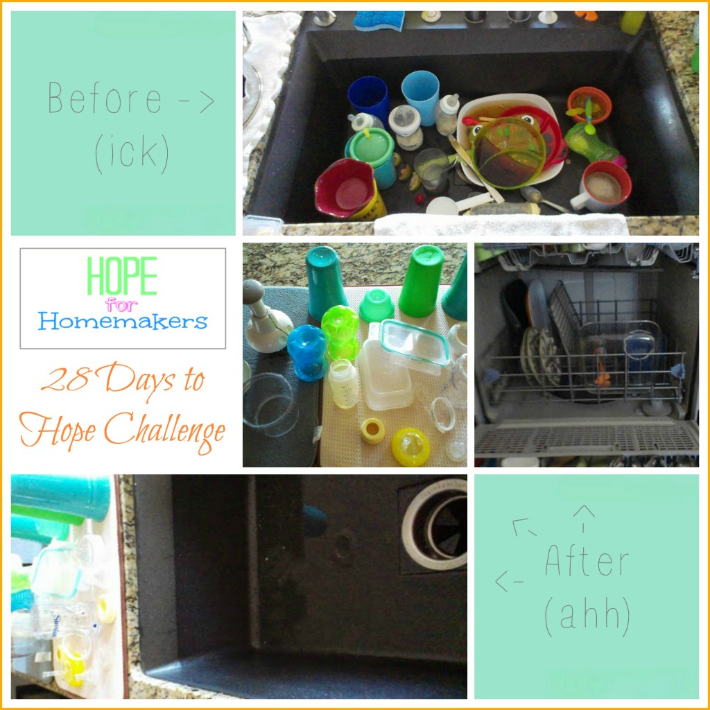Hope for Homemakers 28 Days to Hope, Day 1