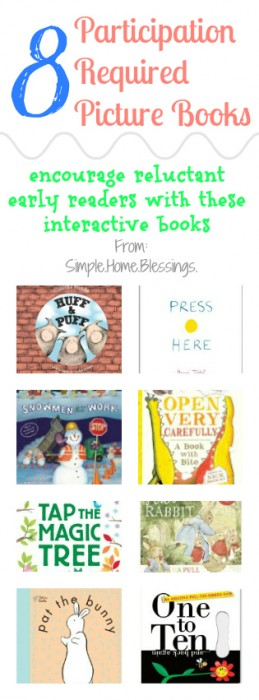 Participation Required Picture Books