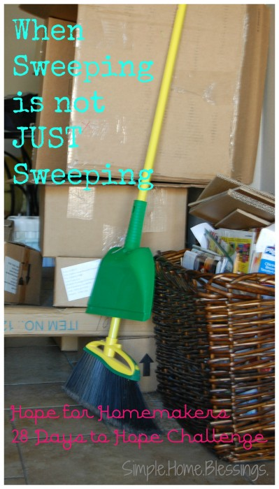 When Sweeping is not JUST Sweeping