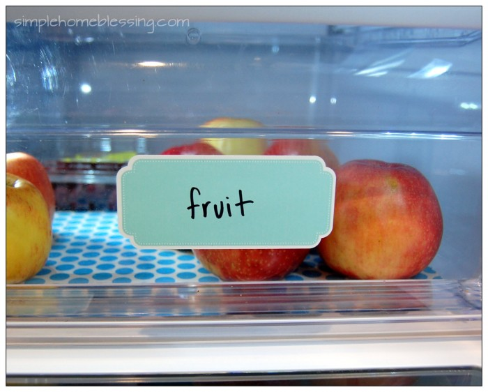 fridge fruit