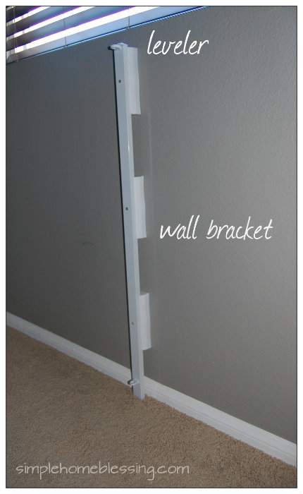 wall bracket for baby gate