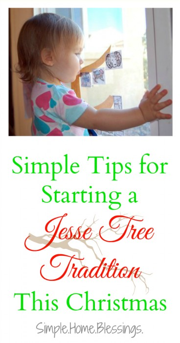 Tips for Jesse Tree Tradition