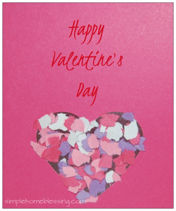 Contact Paper Valentines Guide to Contact Paper Simple Home – Construction Paper Valentine Cards