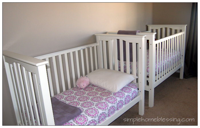 kids clean room challenge - beds made