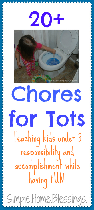 20+ Chores for Tots