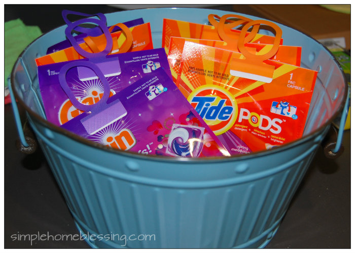 Tide Pods and Gain Flings make clean laundry quick and easy