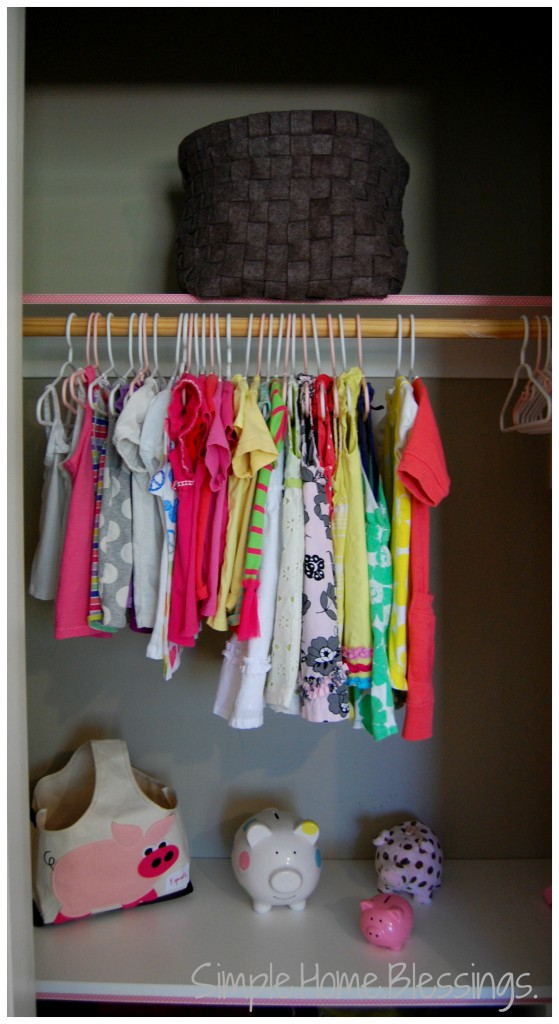 part of a toddler girls' shared room