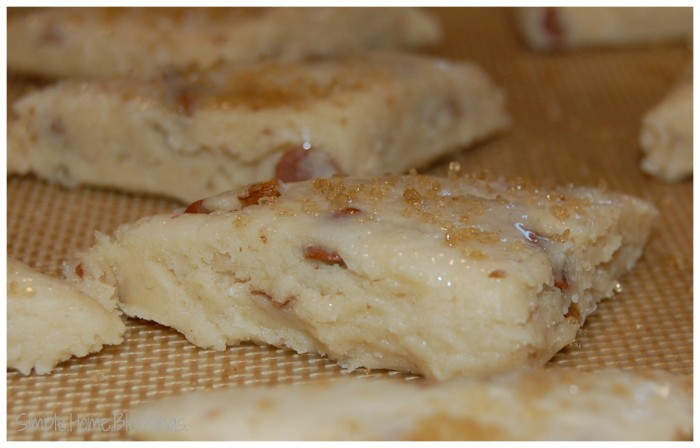 Pecan Cinnamon Chip Scones - bake, or freeze and bake later