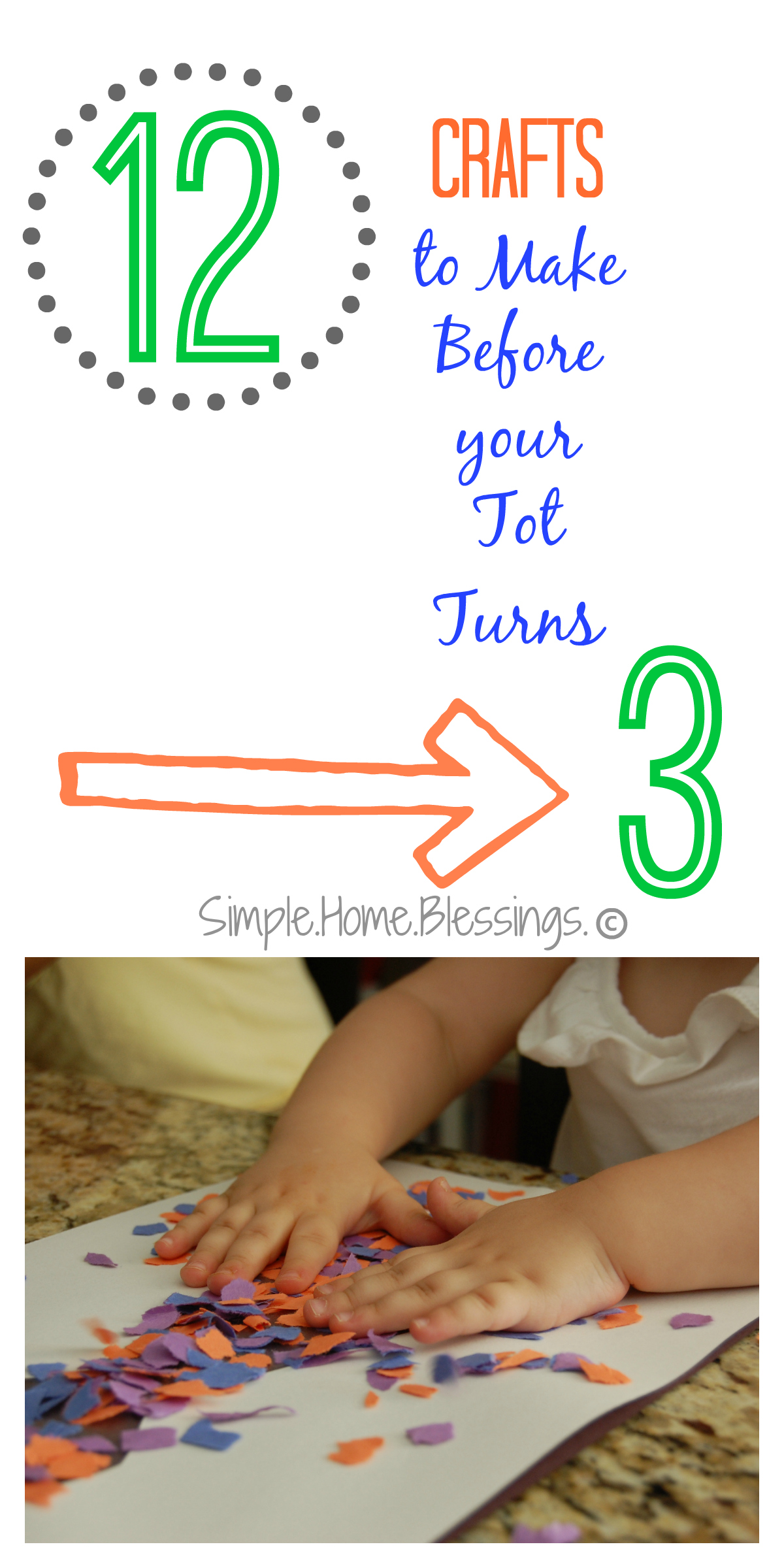 crafts to make before your tot is 3