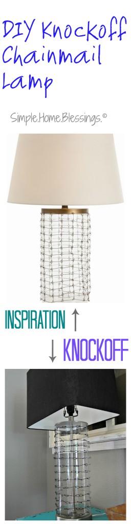DIY Chainmail Lamp