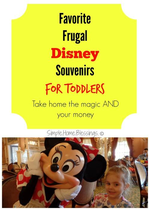 Favorite Picks for Disney Keepsakes for Toddlers