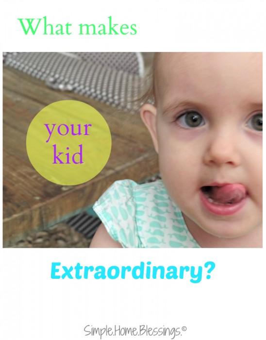 Kids are extraordinary