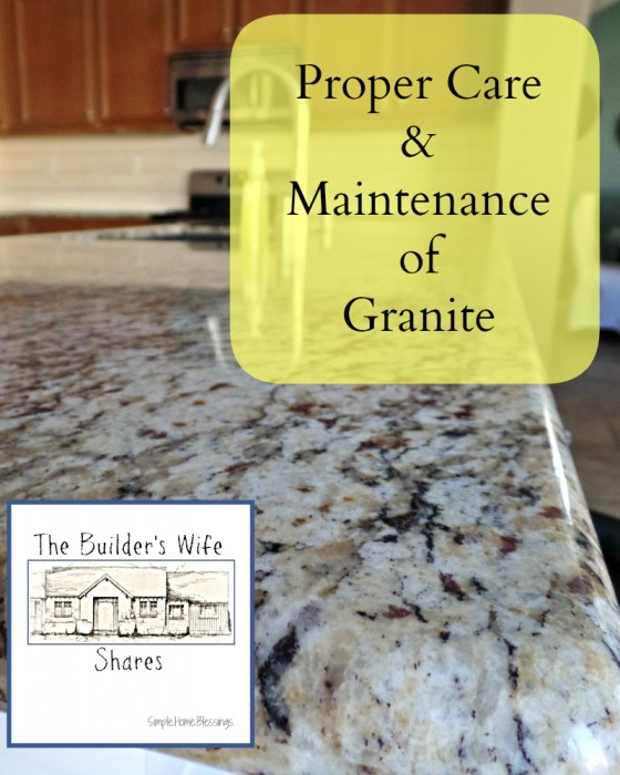 The simple way to take care of your kitchen countertops