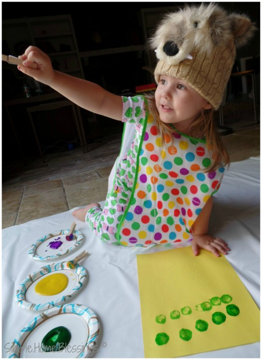 exploring art with toddlers, finding inspiration