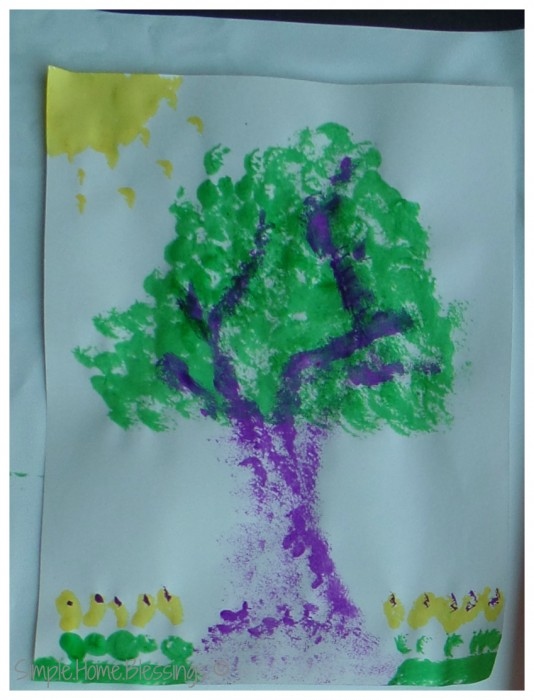 exploring art with toddlers - mama's version