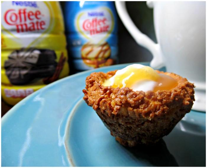 coffee-mate Latin duclce de Leche custard &coconut tarts