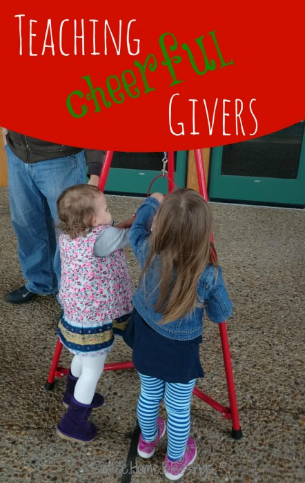teach children to be cheeful givers with these simple ideas