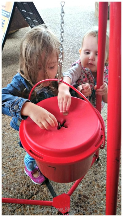 teaching little ones to be cheerful givers