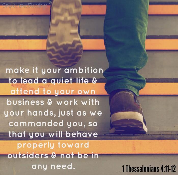 1 Thessalonians 411-12