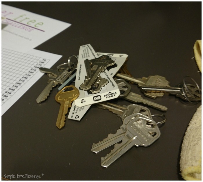 clutter free journey - how did we get this many keys?