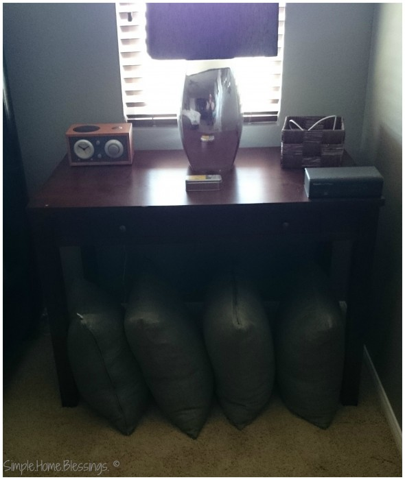 Keeping an Orderly Master bedroom