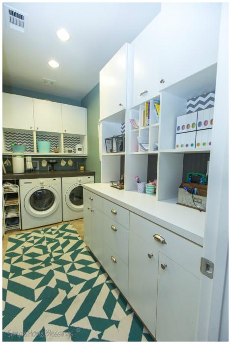 Laundry Rom Make-over Reveal