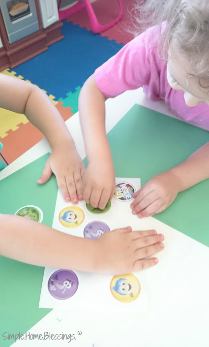 tot project to teach emotions according to God's Word