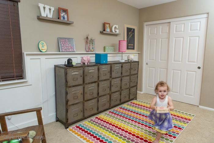 Girls' Shared Bedroom (toddler)