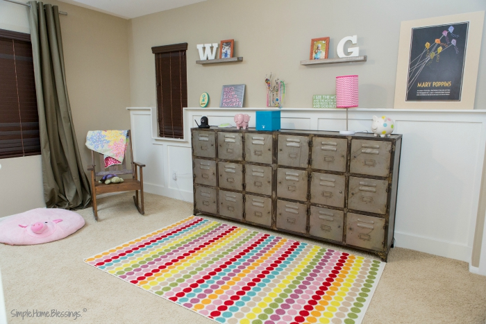 Toddler Girls' Shared Bedroom - Gallery Wall