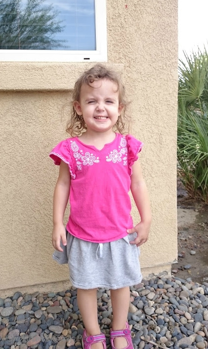 first day of school -preschool at home