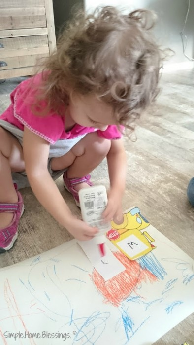 first day of school - preschool at home
