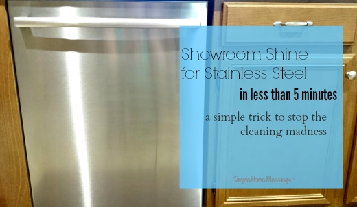 restoring showroom shine to stainless steel - the simple way