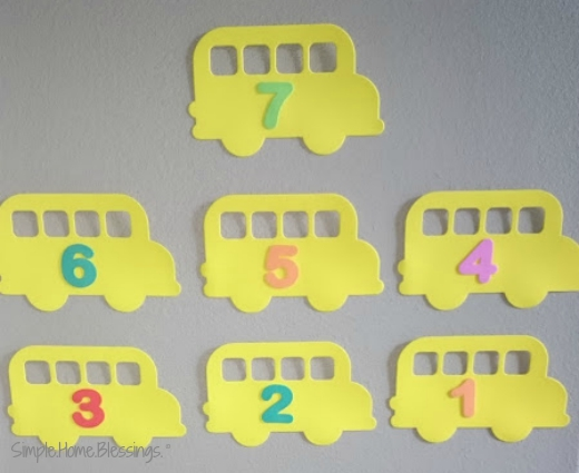 to school countdown, preparing for home preschool