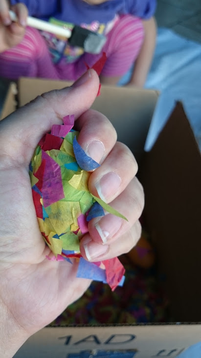 Simple Mosaic Easter Egg activity
