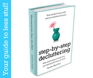 Hope for Homemakers , step by step decluttering