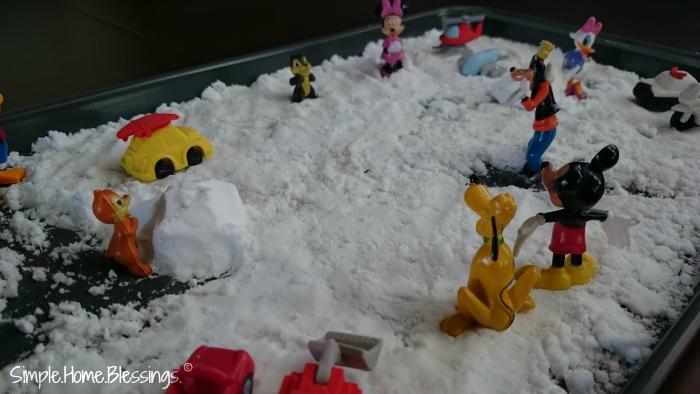 Small World Play for Preschool Police Men unit
