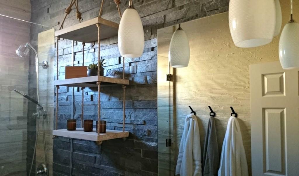 Industrial Inspired Bathroom Remodel