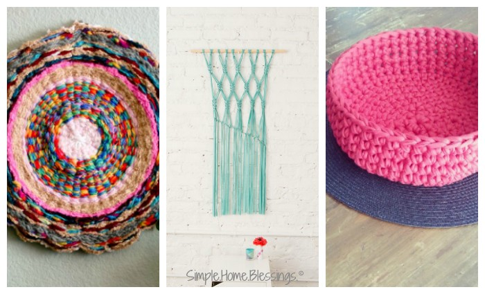 upcycled clothing - home decor project ides from old clothing