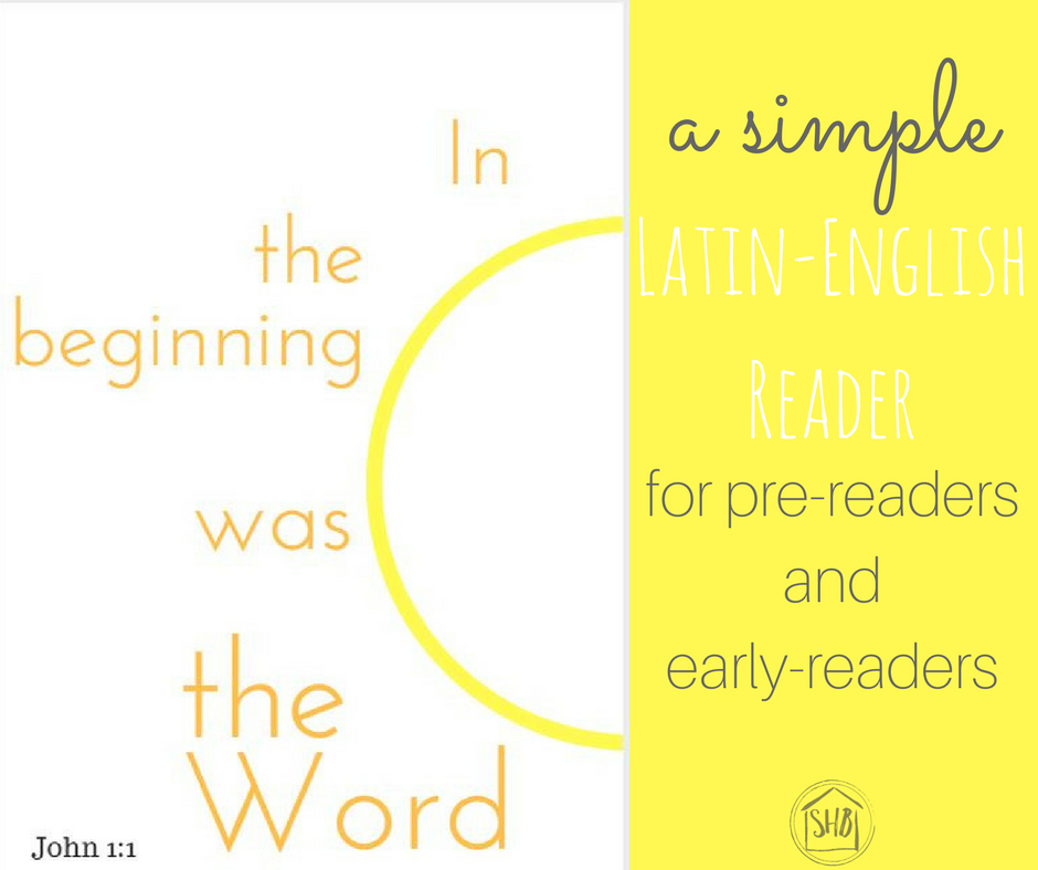 Latin-English reader John 1 -for prereaders and early readers