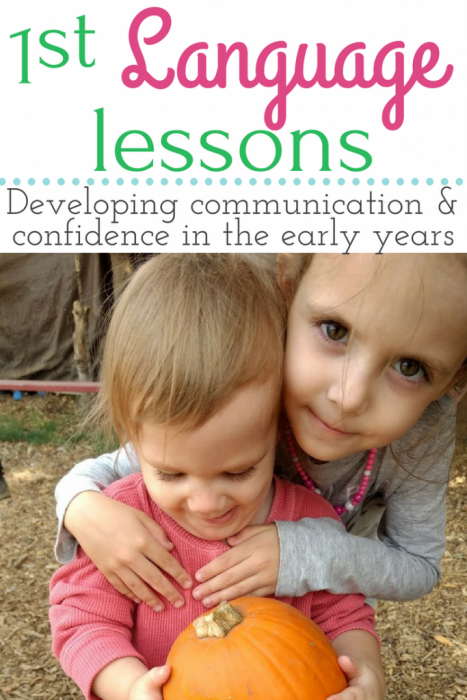 First Language Lessons - tips for using this classical approach to develop communication and confidence in the early years.