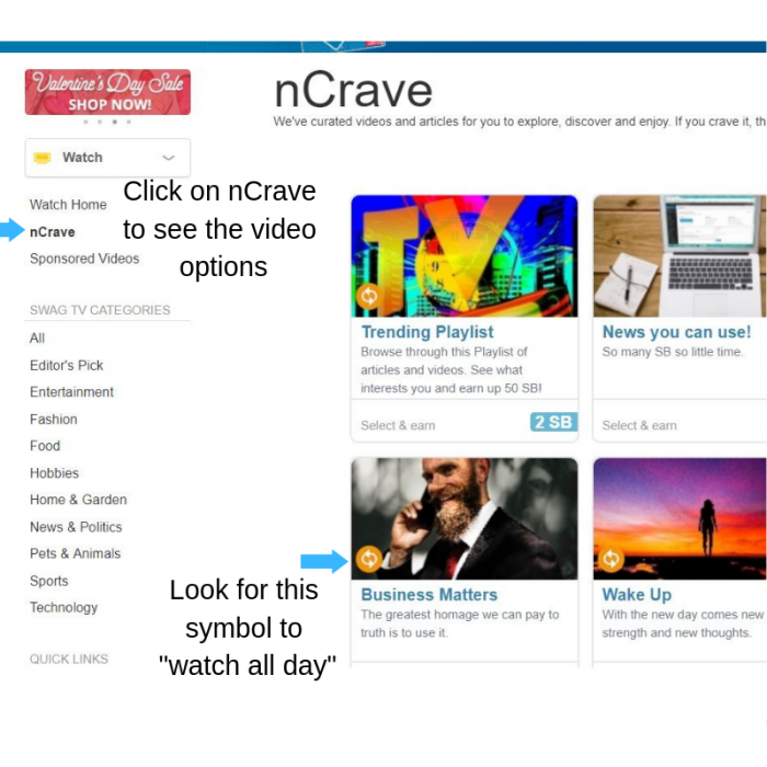earn cash with Swagbucks and nCrave