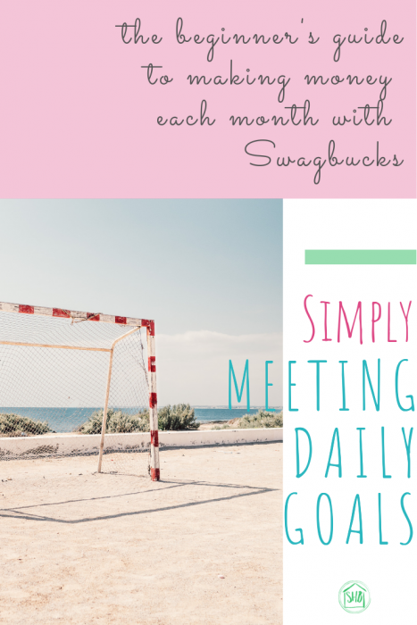 Are you a Swagbucks dropout?  Unlock the earning potential of Swagbucks by following these simple tips to meet daily goals with Swagbucks.  Earn extra cash easily!