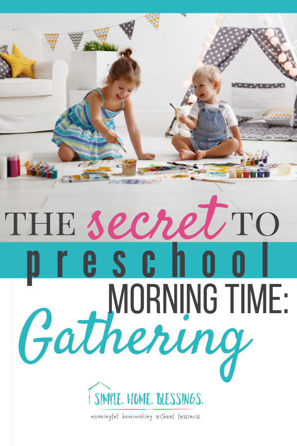 Creating the habit of morning time is hard, especially with little ones.  This free download will help you get started.